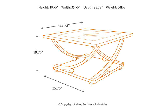 rollins coffee table | ashley furniture homestore