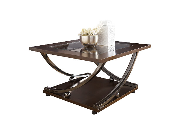 Rollins Coffee Table by Ashley HomeStore, Brown
