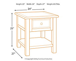 Bolanburg End Table, , large