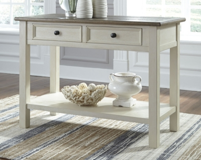 Image of Bolanburg Sofa/Console Table, Two-tone