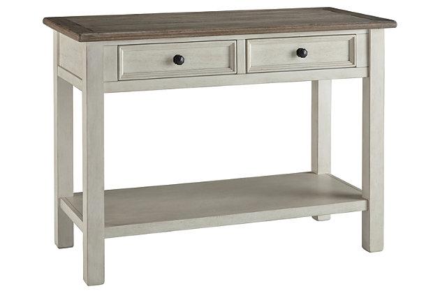 Bolanburg Sofa/Console Table | Ashley Furniture HomeStore