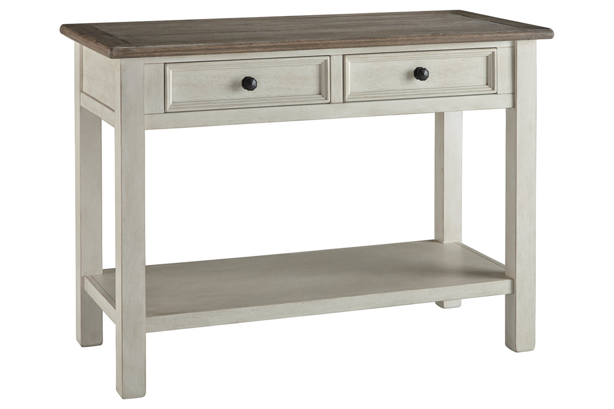 White X-Design End Table Wooden Sofa Side Table Nightstand 2 Display Shelves