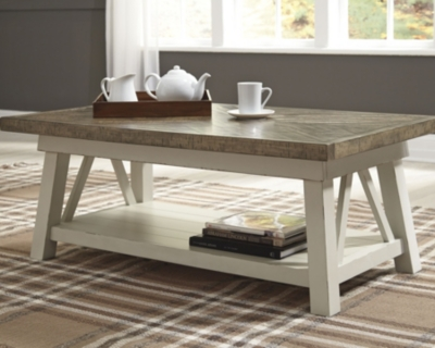 Ashley Stownbranner Coffee Table, Two-tone