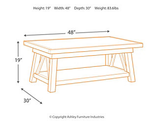 Stownbranner Coffee Table, , large