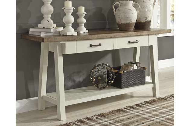 Remarkable Stownbranner Sofa Console Table Ashley Furniture Homestore Download Free Architecture Designs Remcamadebymaigaardcom
