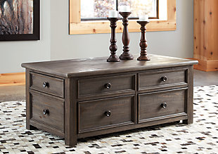 Wyndahl Coffee Table with Lift Top, , large
