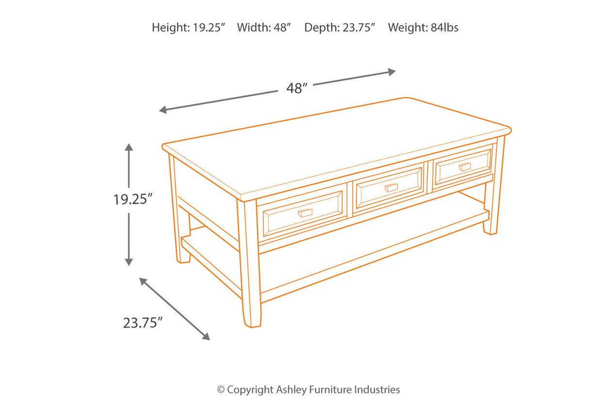 Larimer Coffee Table | Ashley Furniture HomeStore