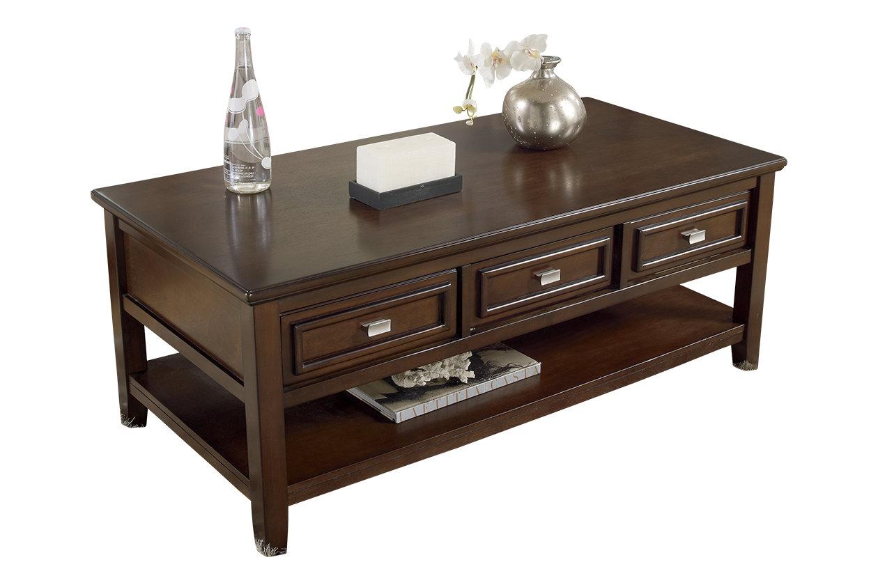 Larimer Coffee Table Ashley Furniture Home
