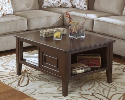 Ashley Larimer Coffee Table, Dark Brown