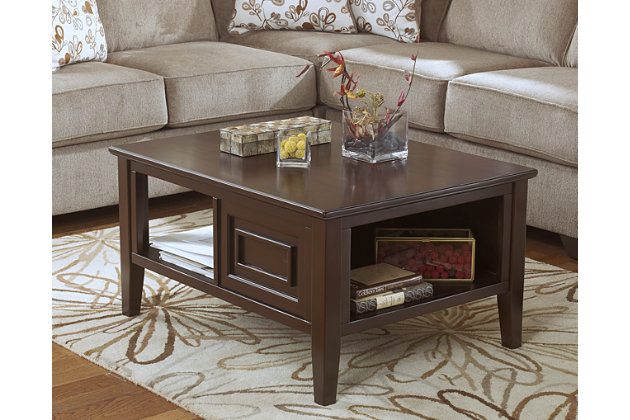 Merveilleux Larimer Coffee Table, , Large ...