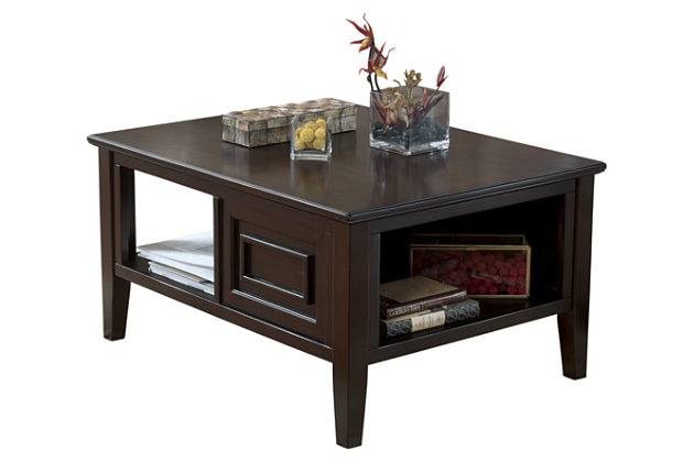 Larimer Coffee Table by Ashley HomeStore, Brown