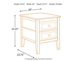 Beau ... Larimer End Table, , Large
