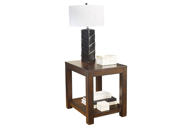 Grinlyn End Table by Ashley HomeStore, Brown