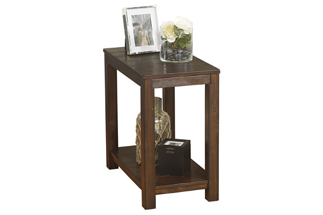 Grinlyn Chairside End Table by Ashley HomeStore, Brown