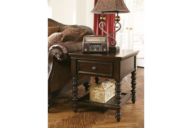 Key Town End Table