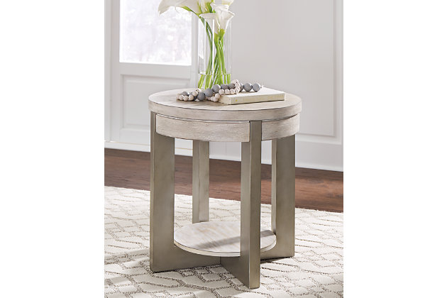 Urlander Coffee Table with 1 End Table, , large
