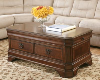 Hamlyn Coffee Table with Lift TopAshley Furniture HomeStore