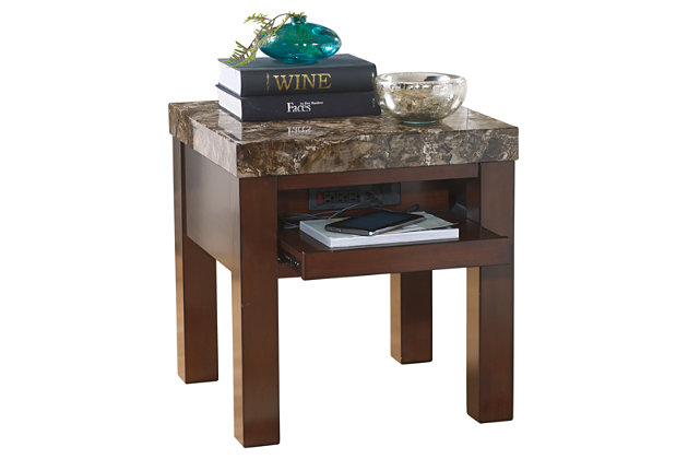 Kraleene End Table by Ashley HomeStore, Brown