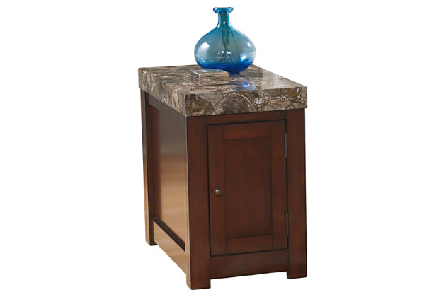 Kraleene Chairside End Table by Ashley HomeStore, Brown