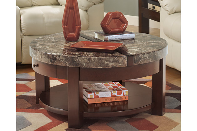 Kraleene Coffee Table with Lift Top, , large