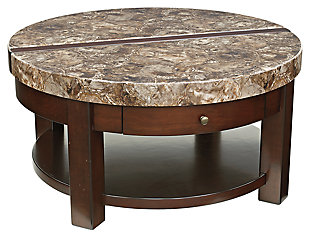 Lifttop Coffee Tables Ashley Furniture HomeStore - Ashley furniture marble coffee table