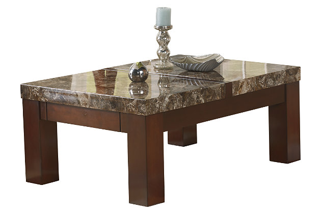 Kraleene Coffee Table with Lift Top by Ashley HomeStore, Brown