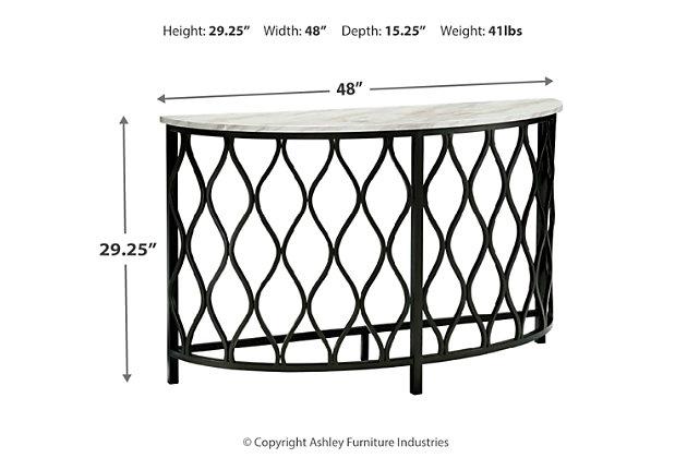 Trinson Sofa/Console Table, , large