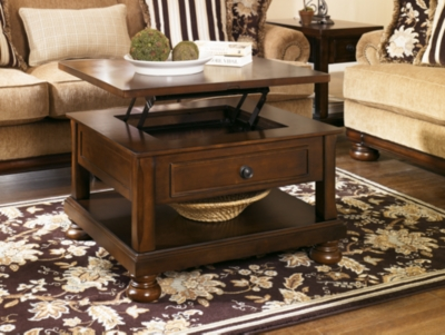 Porter Coffee Table with Lift Top Ashley Furniture HomeStore