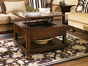 ... Large Porter Coffee Table With Lift Top, , Rollover