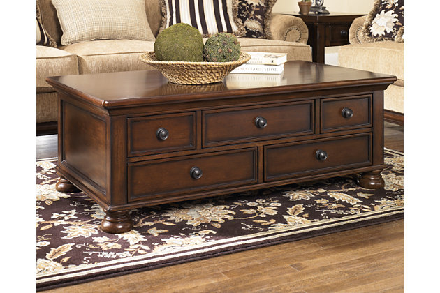 Porter Coffee Table Ashley Furniture HomeStore - Rectangular cocktail table by ashley furniture