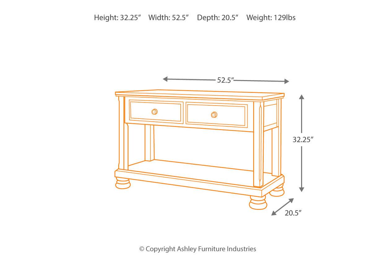 Porter Sofa Console Table Ashley Furniture Homestore