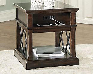 Roddinton End Table with USB Ports & Outlets, , rollover
