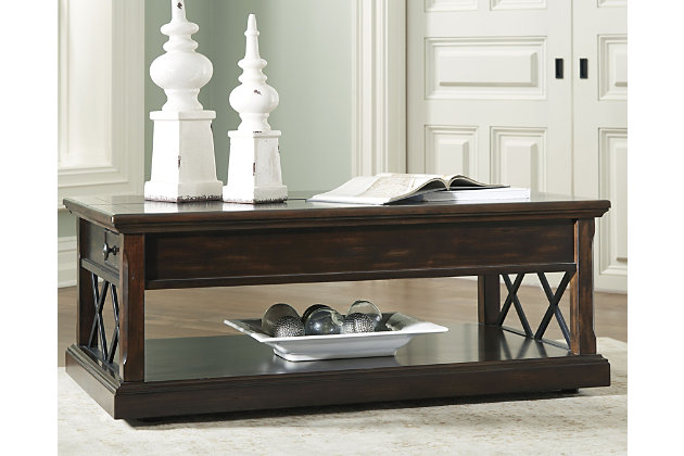 Roddinton Coffee Table with Lift Top, , large