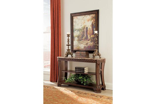 Ledelle table console meubles ashley homestore for Ashley meuble canada