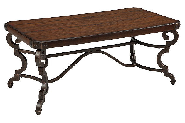 Hadelyn Coffee Table by Ashley HomeStore, Brown