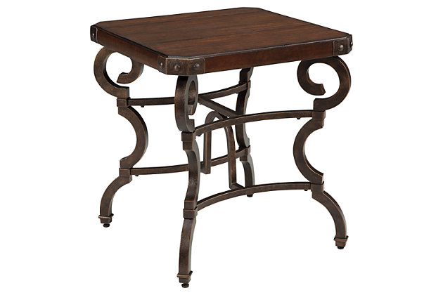 Hadelyn End Table by Ashley HomeStore, Brown