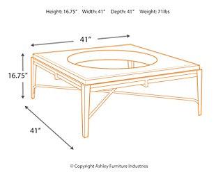 Flandyn Coffee Table, , large