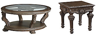 Charmond Coffee Table with 1 End Table, , large