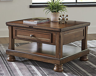 Flynnter Coffee Table with Lift Top, , rollover