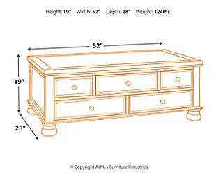 Flynnter Coffee Table, , large