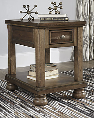 Flynnter Chairside End Table, , rollover