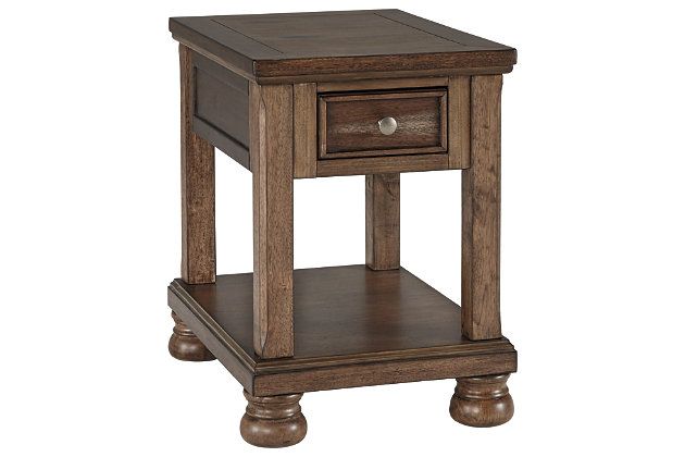 Flynnter Chairside End Table, , large