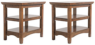 Cross Island 2 End Tables, , large
