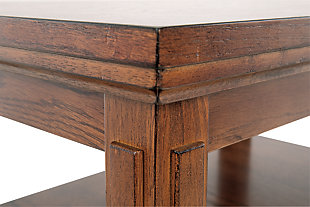 Cross Island Chairside End Table, , large