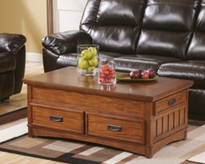 Cross Island Coffee Table with Lift TopAshley Furniture HomeStore
