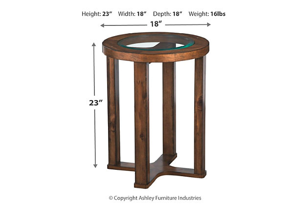 Hannery End Table, , large