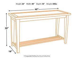 Mavenry Sofa Table Ashley Furniture Homestore