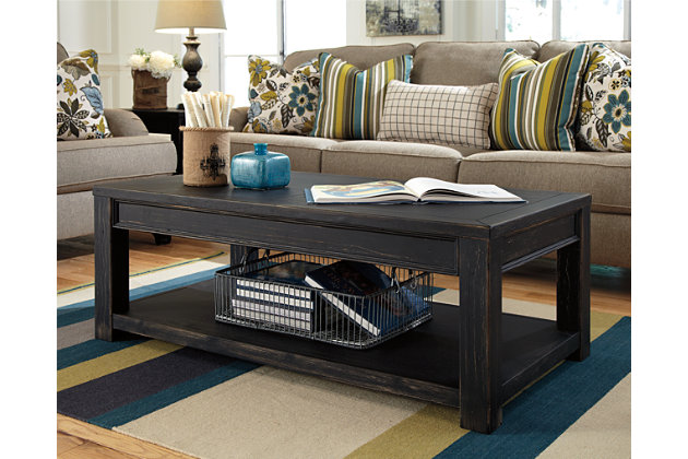 Gavelston Coffee Table Ashley Furniture HomeStore - Rectangular cocktail table by ashley furniture