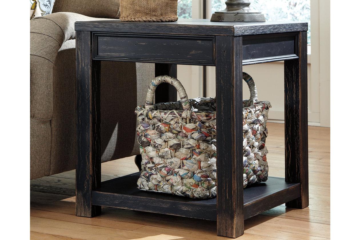 Brilliant Gavelston End Table Ashley Furniture Homestore Machost Co Dining Chair Design Ideas Machostcouk