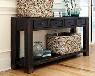 Console tables ashley furniture homestore large gavelston sofaconsole table rollover watchthetrailerfo